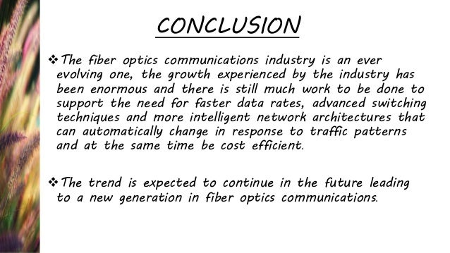 applications of optical fiber communication in industry