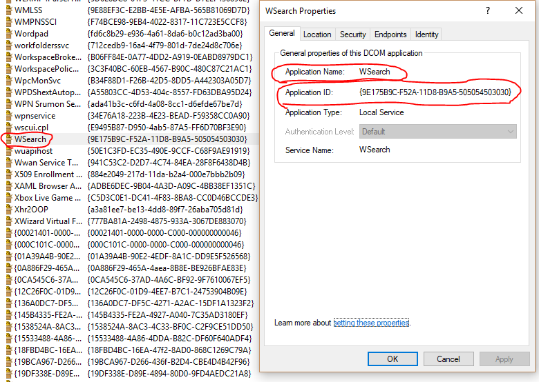 local activation permission for the com server application with clsid