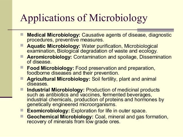 application of microbes in agriculture
