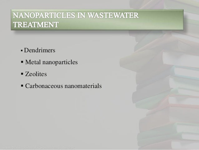 application of silver nanoparticles in water treatment