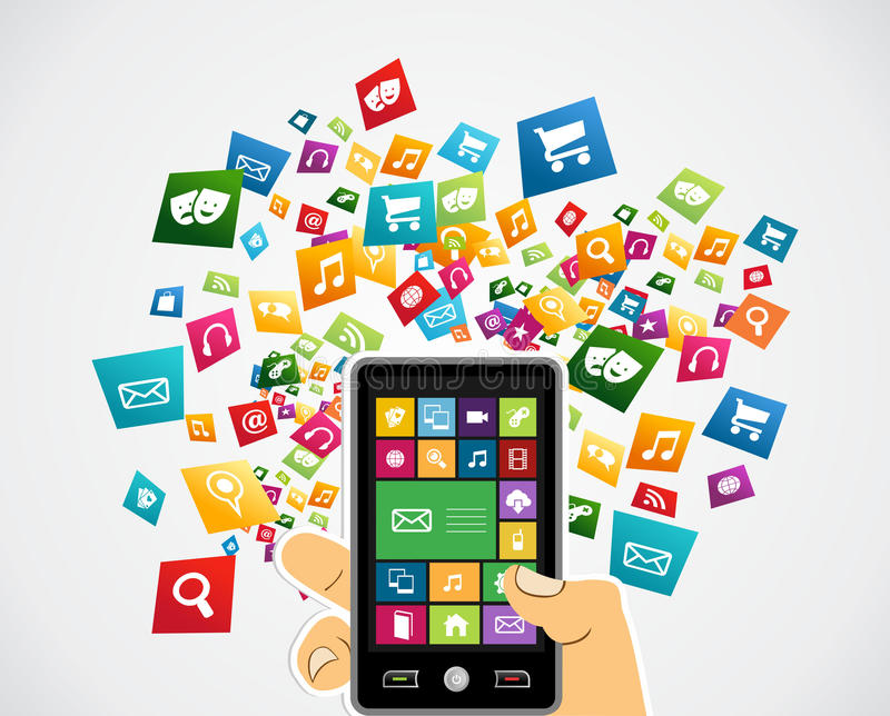 what is sns application in mobile phones