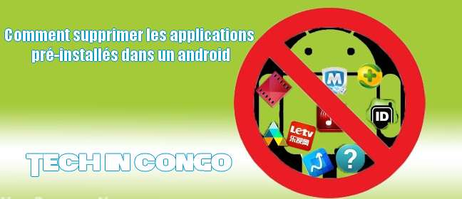 supprimer application systeme android sans root