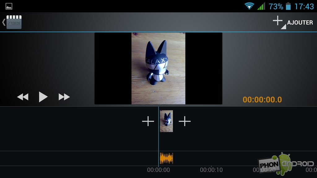 application de montage video android