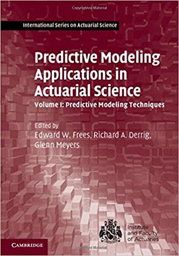 predictive modeling applications in actuarial science pdf