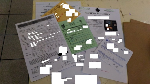 application for renewal of a firearms licence