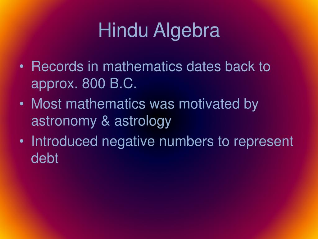 application of mathematics in astronomy ppt