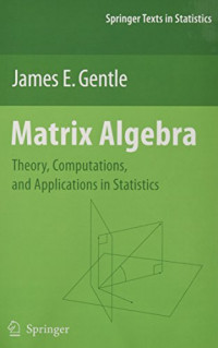 application of matrices in statistics