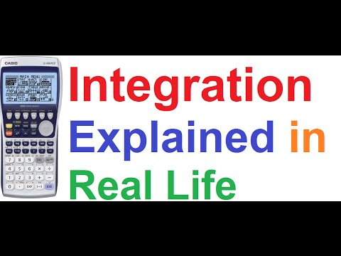 applications of integration in real life examples
