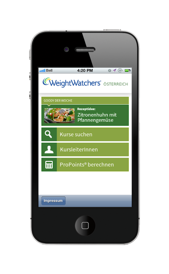 application android weight watchers gratuit