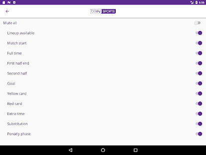 application bein sport gratuit android