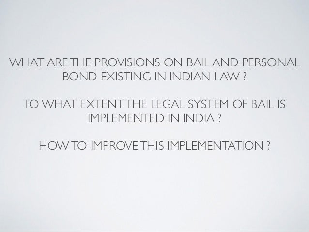 what is a bond application